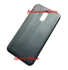 Rear Panel Back Door Cover For LG Stylo/Stylus 3 Plus TP450 MP450 M470F GrayBlue