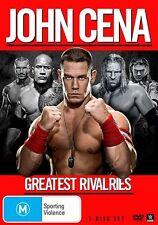 WWE - Greatest Rivalries - John Cena (DVD, 2014, 3-Disc Set) - Region 4