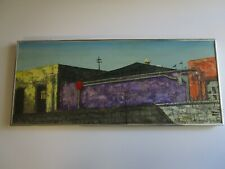 FINEST ROBERT FARRINGTON PAINTING VENICE BEACH URBAN REGIONALISM MOD CALIFORNIA