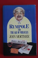 RUMPOLE AND THE AGE OF MIRACLES - John Mortimer - Large Print ED (HC/DJ, 1989)