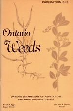 ONTARIO WEEDS: Publication 505 – Drawings & Pictures Ontario Dept of Agriculture