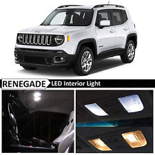 11x White Interior LED Lights Package Kit for 2015-2017 Jeep Renegade BU