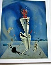 Salvador Dali Poster -Apparatus and Hand 14x11 Offset Lithograph Unsigned