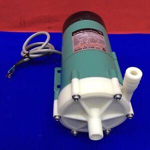 Iwaki MD-30RZ-220NL01 Magnet Pump.Max Capacity 15/17 l/min. Max head 8/11 m.