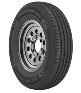 ST205/75R14 D 105/101M 8-Ply Trailer King RST Tire (Tire Only)