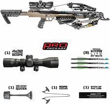 New Killer Instinct RUSH 380 Illuminated 4x32 Scope Crossbow Package 1001