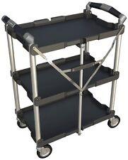 Utility Tool Storage Service Garage Food Home Kitchen Shop Mobile Folding Cart