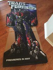 HBO Generation 1 Transformers OFFICAL CINEMAX CARDBOARD STANDEE  UNUSED -PRIME
