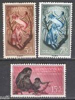GUINEA ESPAÑOLA Edifil # 355/357 **  MNH  Fauna / animals / MANCHAS / STINES
