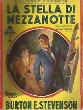 Gialli Economici Mondadori n.47 B.E. Stevenson - La stella di mezzanotte 1951