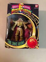 BanDai Mighty Morphin Power Rangers Evil Space Aliens Bones Figure! (1993