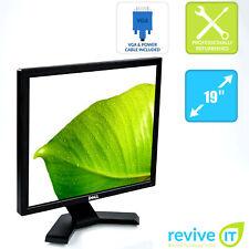 """Dell E190S 19"""" 1280x1024 5:4 LCD Monitor VGA Grade A"""