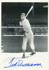 Ted Williams Signed 5 x 7 Photo. Rookie Era. George Burke Image 1930s, PSA