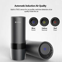 AUG Car Interior Air Purifier Ionizer Freshener Smoke Odor Cleaner Portable