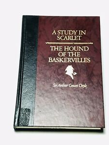 A Study In Scarlet & The Hound of The Baskerville -Hc 1986 ills.