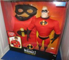 Disney Incredibles 2 Mr Incredible Super Set Doll & Shirt N Mask Costume 4-6X
