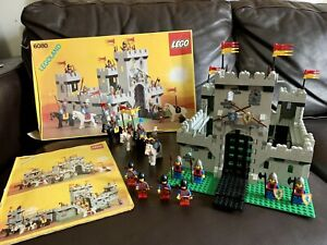 "GENUINE VINTAGE (1984) *RARE* CLASSIC CASTLE LEGO ICONIC #6080 ""KING'S CASTLE"""