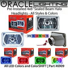 "ORACLE Pre-Installed 4x6"" Sealed Beam LED Halo Headlights - All Colors - #6909"