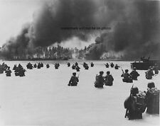 "165th Infantry assault wave attacking Butaritari 8""x 10"" World War II Photo #163"