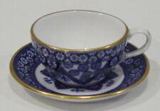 VINTAGE SPODE COPELAND MINI / MINIATURE BLUE PROMISE TEA CUP & SAUCER NEW
