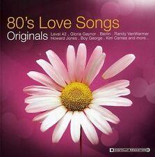 ORIGINALS-80'S LOVE SONGS  CD NEW+ PAUL YOUNG/HOWARD JONES/BOY GEORGE/+