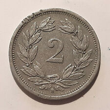 Schweiz    2 Rappen 1942 B  -  KM #4.2a