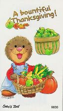 Suzys Zoo Scrapbooking Stickers 50 Mods Bountiful Thanksgiving Harvest Fall
