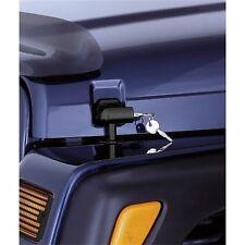 Locking Hood Catch Kit for Jeep Wrangler TJ 1997-2006 Black 11210.10