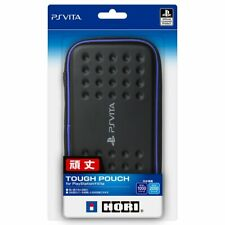 PS Vita Hori Tough Hard Pouch Case cover PlayStation Black Blue PCH-1000/2000 JP