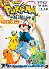 Anime Pokemon Indigo League Complete ENGLISH Series - UK DISPATCH
