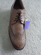LOTUS KINGSHEATH BROWN BROGUECASUAL SHOE SIZE 8  RRP £65
