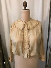 New listing 1900 - 1920's? Vintage silk blouse
