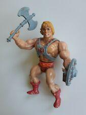 Masters of the Universe vintage He-Man action figure MotU Mattel