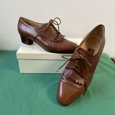 Ancienne Paire De Chaussures LA BOTTE CHANTILLY Pointure 37 Femme Cuir Vintage