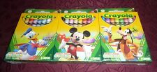 Crayola Disney Mickey Mouse Clubhouse set of 3-8 packs: Donald, Mickey, Goofy