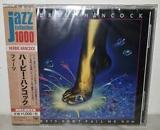 CD HERBIE HANCOCK - FEETS DON'T FAIL ME NOW - JAPAN SICP 3996