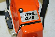 Stihl MS 026 Motorsäge Kettensäge ähnlich  260  261 270 271 281 029 290