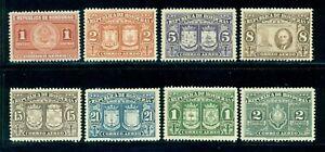 Honduras Scott #C155-C162 MNH Franklin D. Roosevelt Death FDR CV$12+