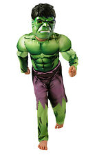 Rubie's Official Deluxe Incredible Hulk Boys Fancy Dress Kids Marvel Superhero Childrens Costume Small Ages 3 - 4