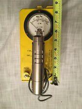 1962 Lionel Lab Cdv-700 Geiger Counter Model 6b Civil Defense Radiation Detector