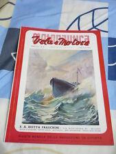 MOTONAUTICA VELA E MOTORE N. 3 MARZO 1941