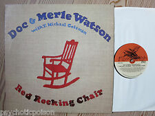 DOC Watson & Merle Watson-Red Rocking Chair LP FLYING FISH FF 252 1. Edition