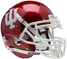 INDIANA HOOSIERS NCAA Schutt AiR XP Full Size AUTHENTIC Football Helmet