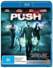 Push (Blu-ray, 2010) Region B New/Case Damaged