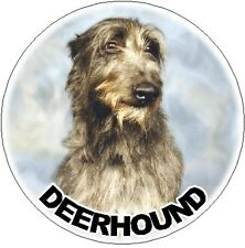 2 Deerhound Car Stickers - Starprint