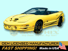 2002 Pontiac Firebird Trans Am Collector's Edition Decals & Stripes Kit