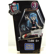 Mega Bloks Monster High Ghouls skullection Ghoulia Mini Figura