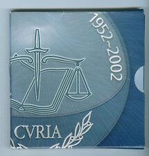 Luxemburgo 25 euro 2002 tribunal europeo de plata en el pp originalfolder