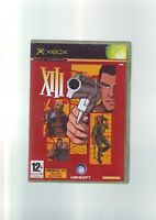 XIII -  MICROSOFT XBOX FPS SHOOTER GAME / 360 COMPATIBLE - ORIGINAL & COMPLETE