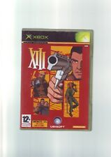 XIII-nicrosoft XBOX FPS Shooter Game/360 compatible-ORIGINAL & COMPLET